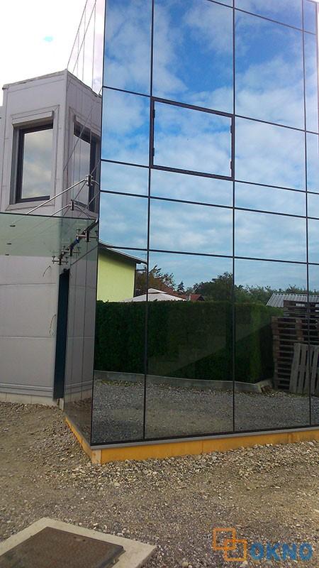 Staklena fasada, Formin, Slovenija