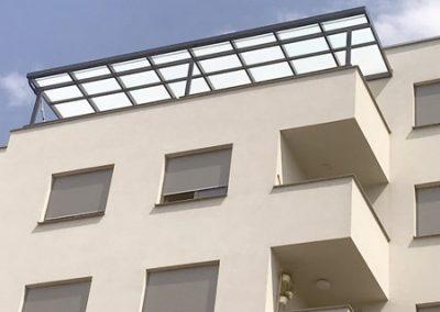 2 Alu nadstrešnice, Zagreb – stambena zgrada
